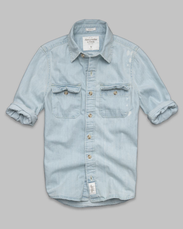 ANF Silver Lake Denim Shirt