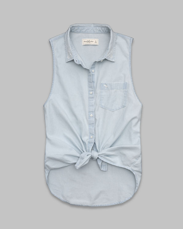 Womens Carissa Chambray Shirt