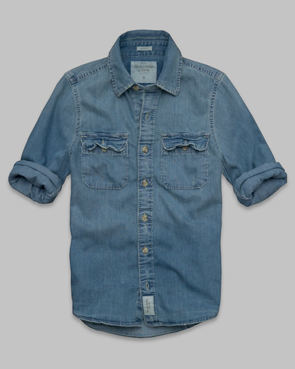 ANF Hoffman Mountain Denim Shirt