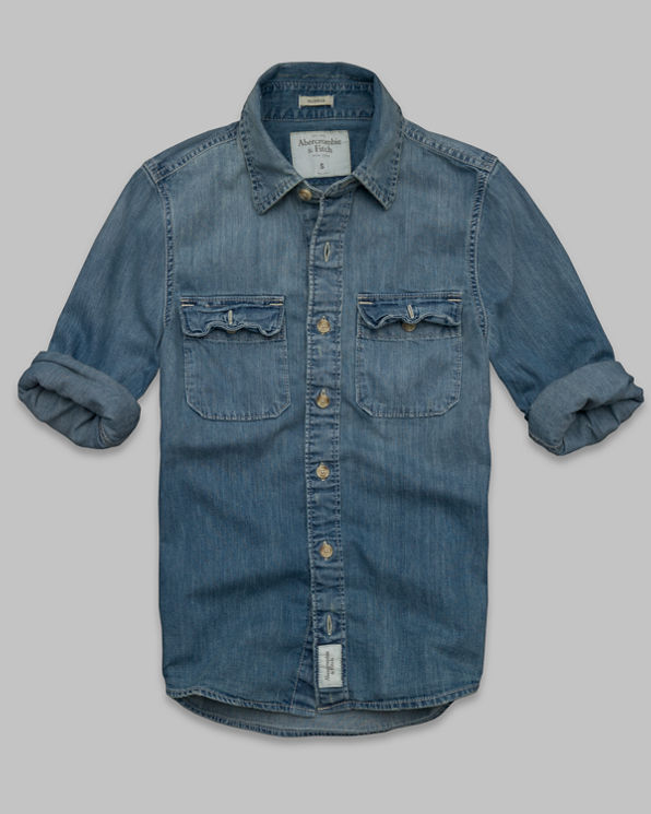 ANF Gothics Mountain Denim Shirt