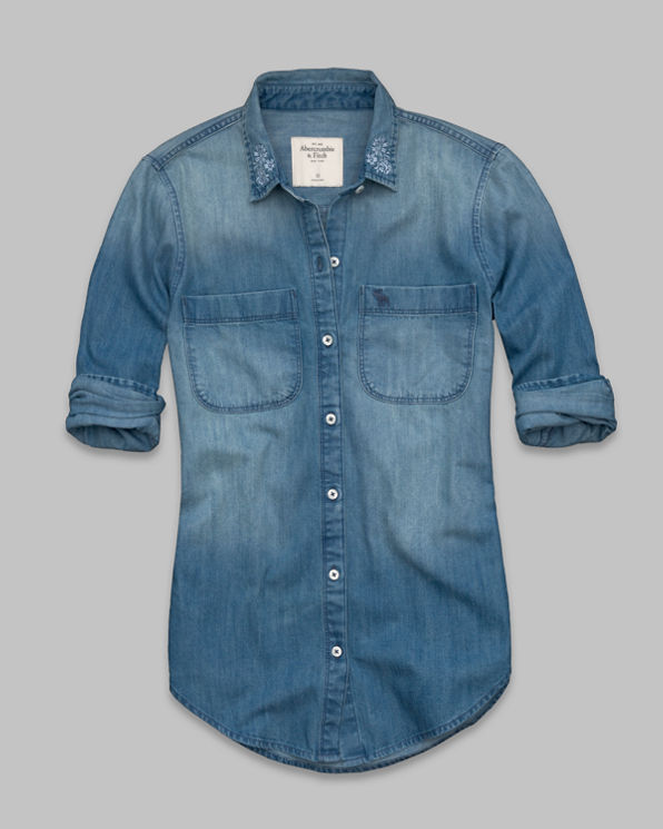 Womens Payton Denim Shirt