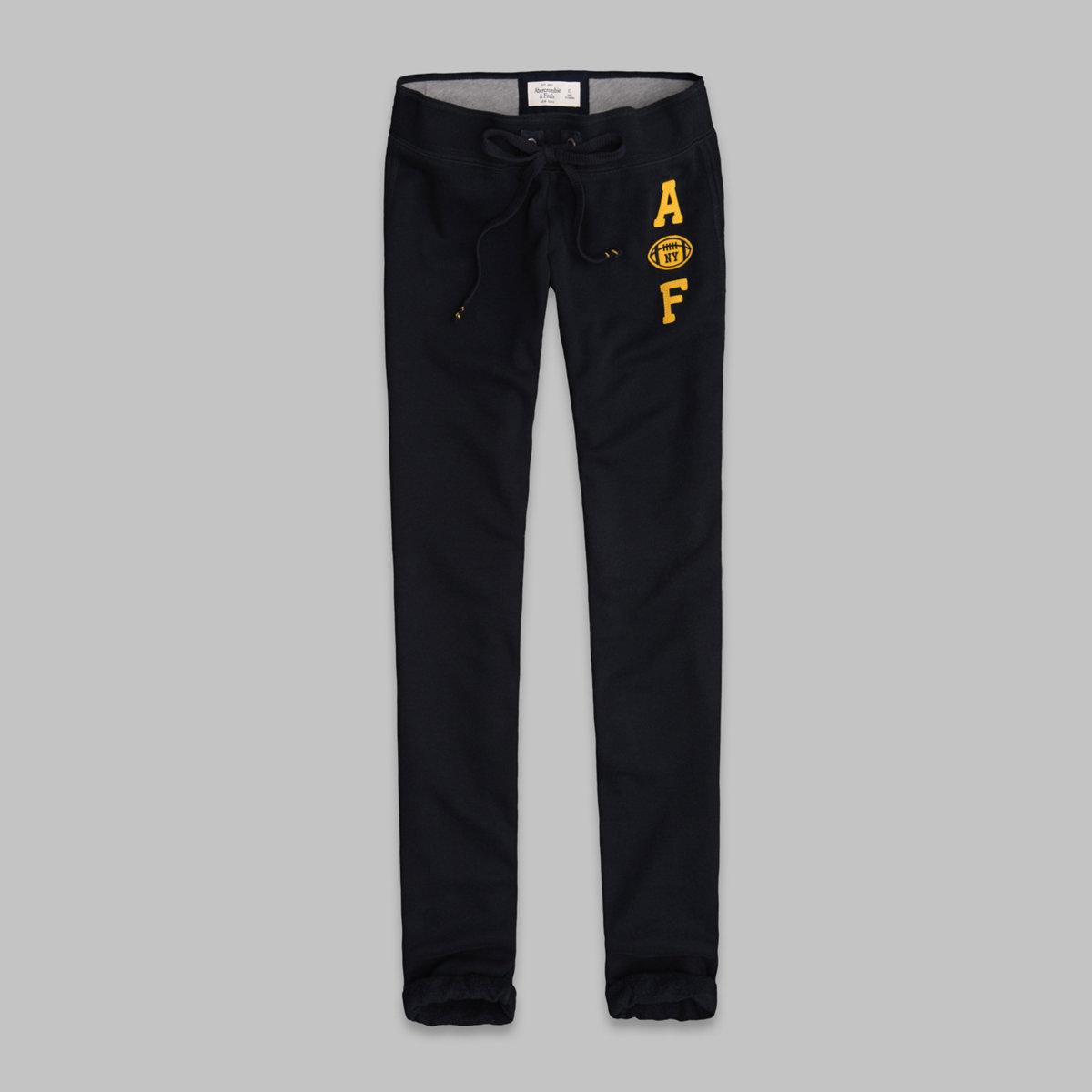 A&F Skinny Banded Sweatpants