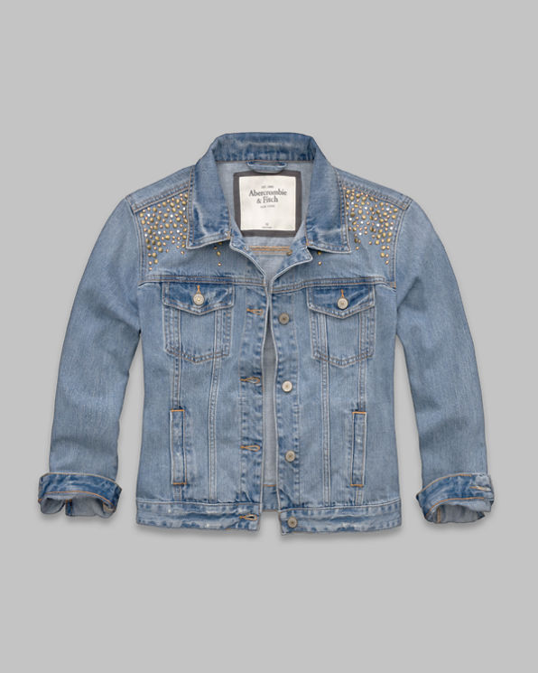 Womens Vanessa Shine Denim Jacket