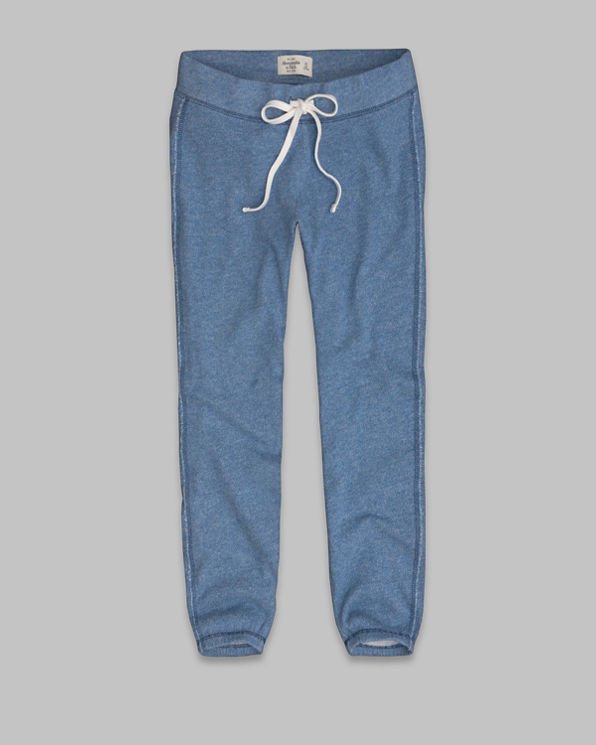 A&F Banded Cropped Sweatpants A&F Banded Cropped Sweatpants
