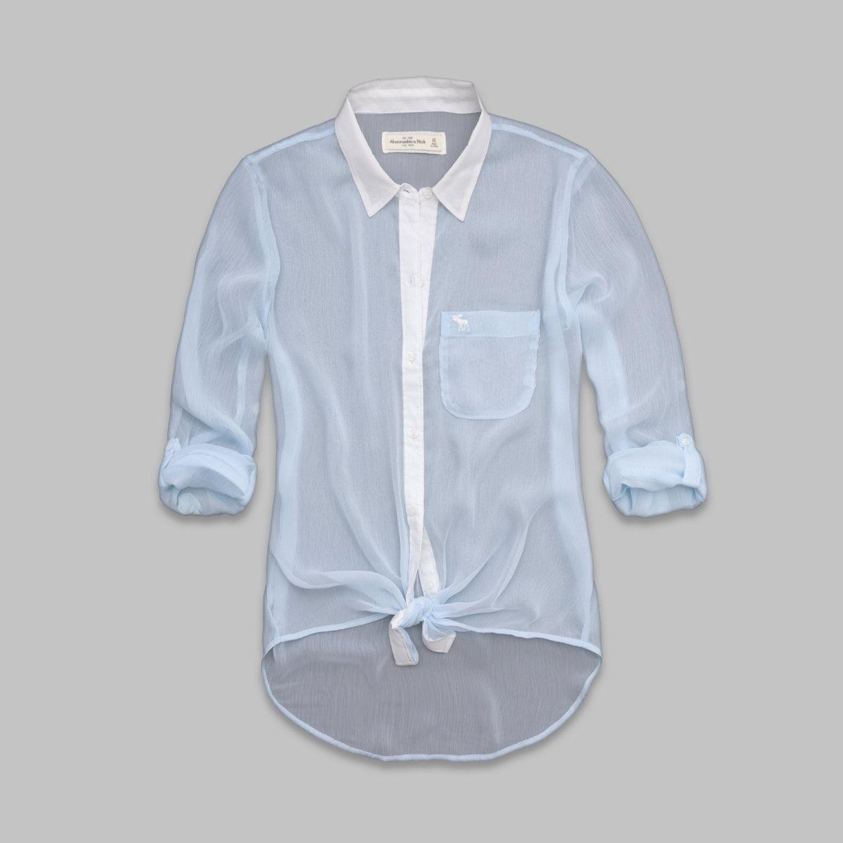 Micah Chiffon Shirt