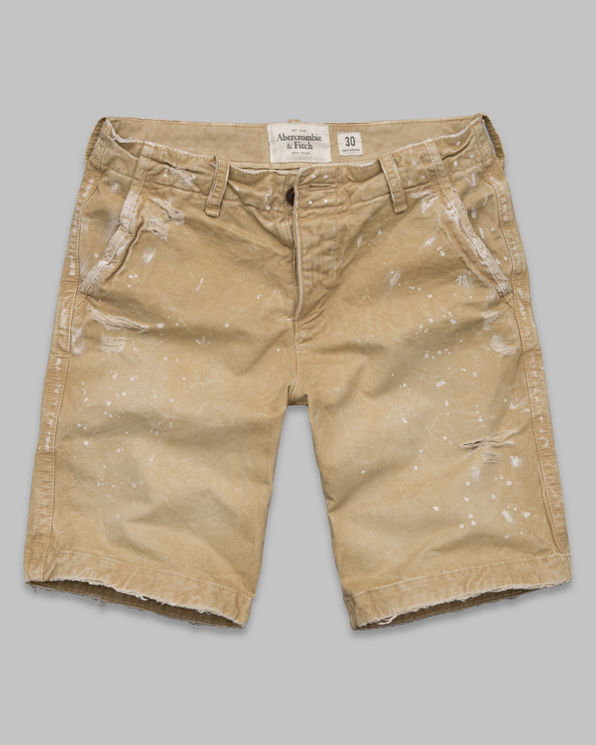 A&F Destroyed Classic Fit Shorts A&F Destroyed Classic Fit Shorts