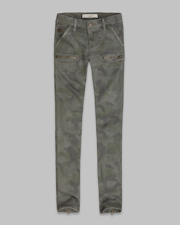 ANF A&F Military Pants