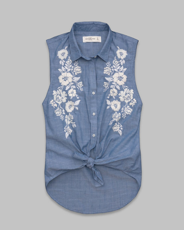 Womens Madeline Chambray Shirt
