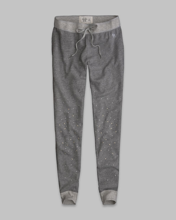ANF A&F Vintage Skinny Sweatpants