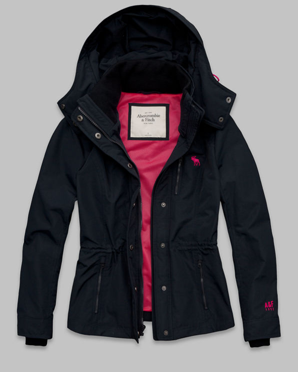 ANF The A&F All-Season Weather Warrior Jacket