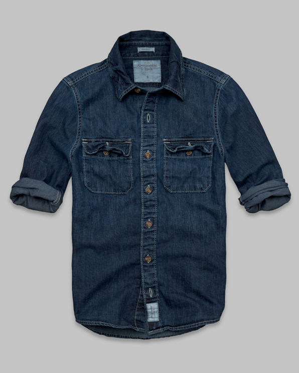 Railroad Notch Denim Shirt Railroad Notch Denim Shirt