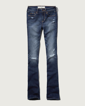 Womens A&F Boot Mid Rise Jeans   Womens Clearance ...