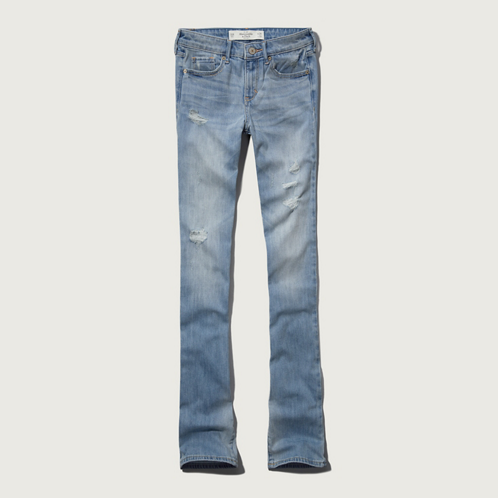 Featured Items A&F Mid Rise Boot Jeans