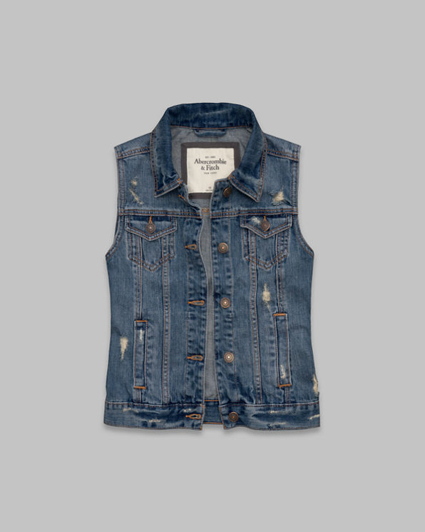 Womens Gillian Denim Vest