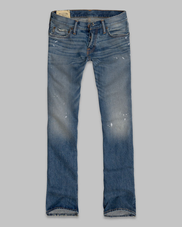 ANF A&F Boot Button Fly Jeans