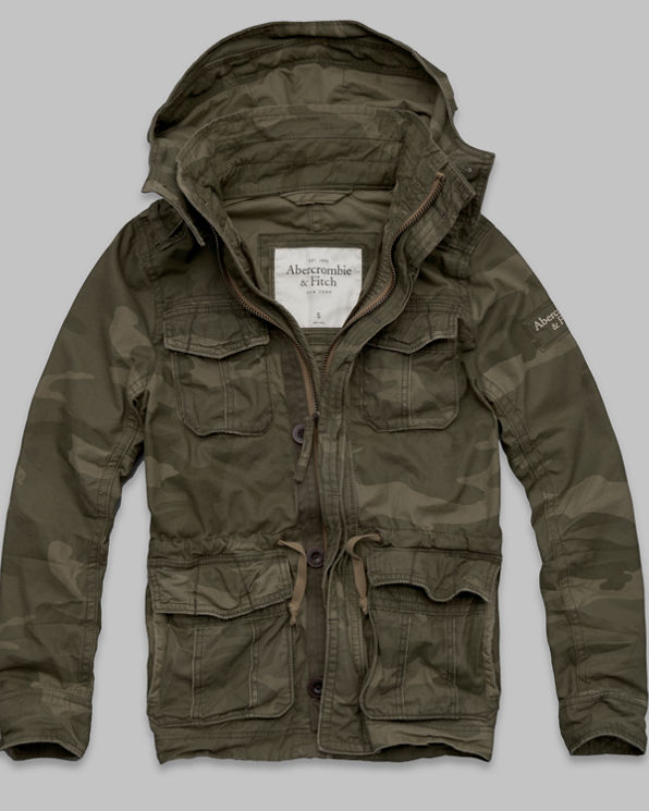 ANF Green Mountain Parka
