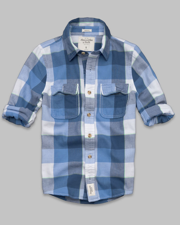 ANF Phelps Trail Twill Shirt
