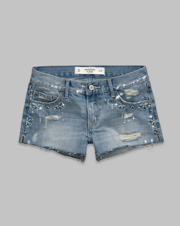 ANF A&F Mid Rise Shorts
