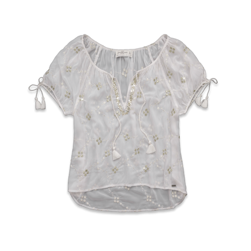 Womens Dianne Shine Top