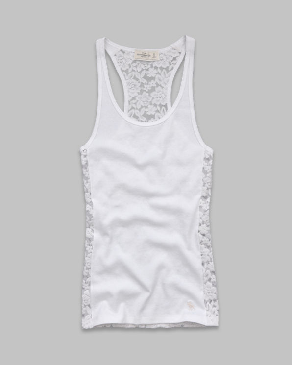 Brieann Lace Back Tank Brieann Lace Back Tank