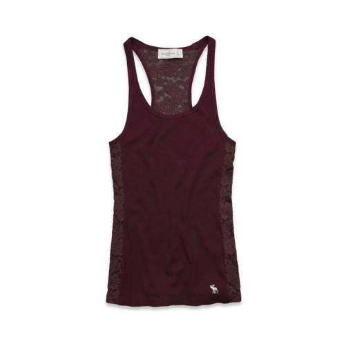 Womens Brieann Lace Back Tank