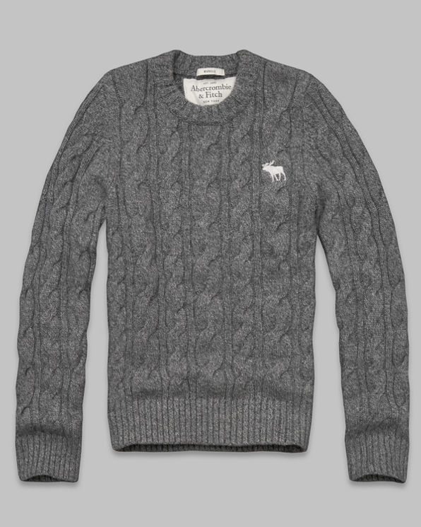 Mens Lake Arnold Cable Sweater
