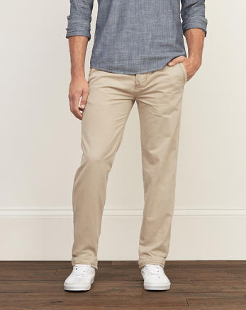 ANF Slim Straight Chinos