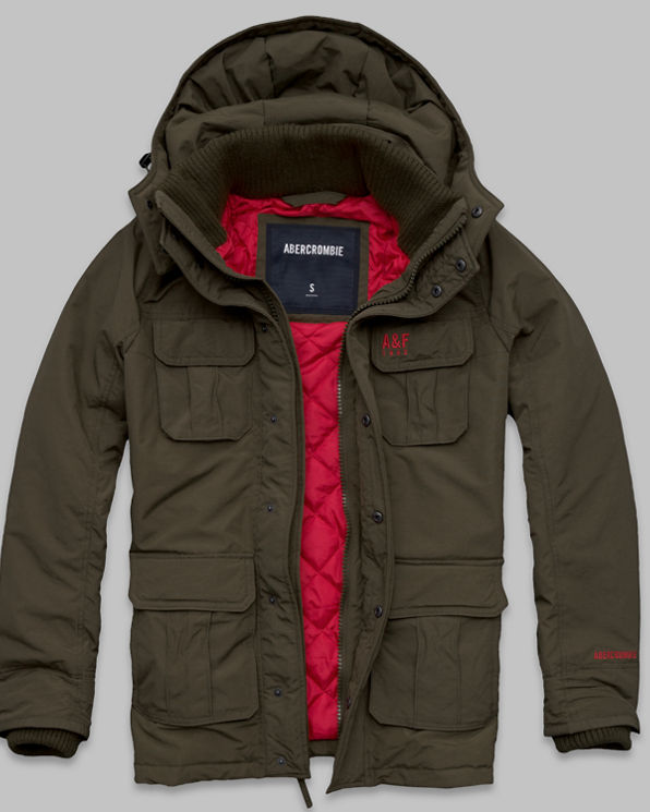 A&F All-Season Weather Warrior Parka A&F All-Season Weather Warrior Parka