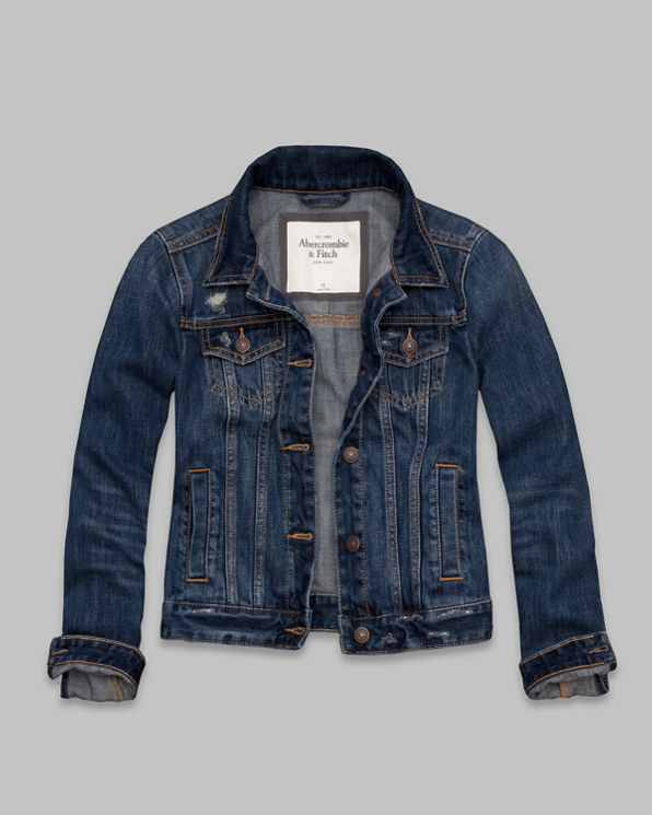 ANF Hadley Denim Jacket