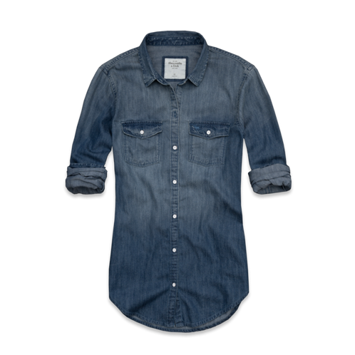 Womens Sarah Denim Shirt