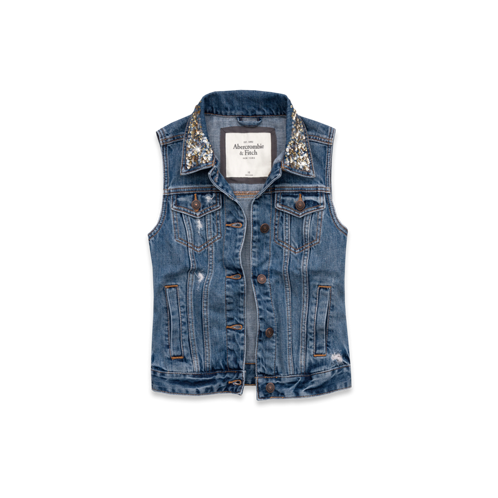 Womens Randi Denim Vest