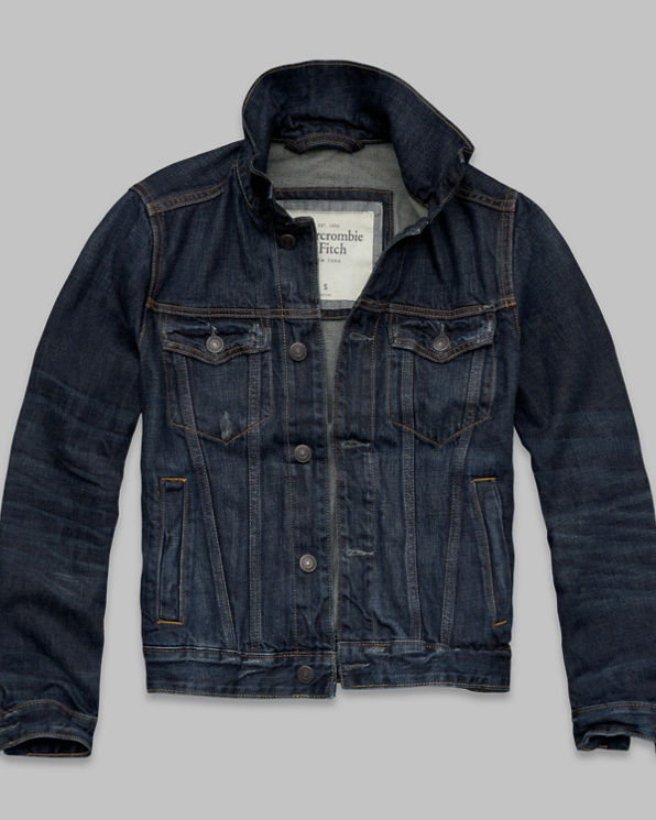 Mens A&F Denim Jacket