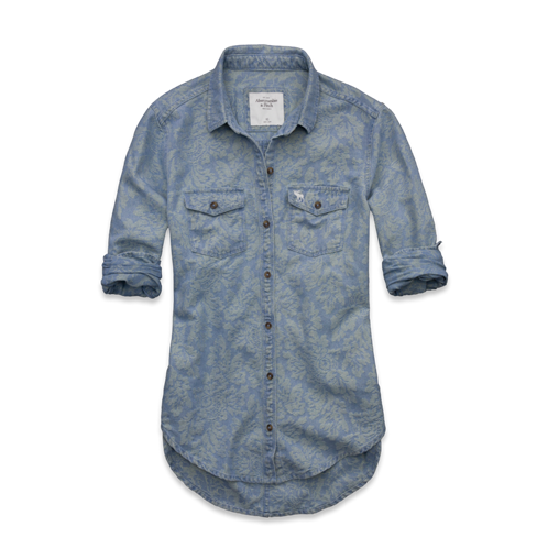 Featured Items Tristen Chambray Denim Shirt