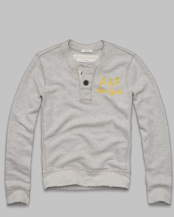 Mens Railroad Notch Sweatshirt