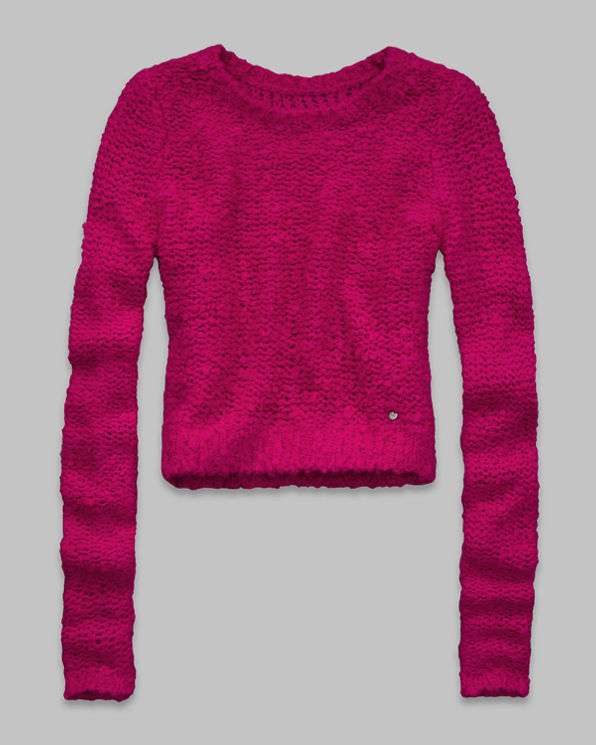 Arielle Cropped Sweater Arielle Cropped Sweater