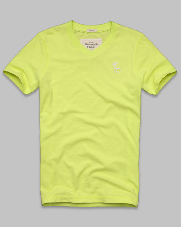 Mens Feldspar Brook V-Neck Tee