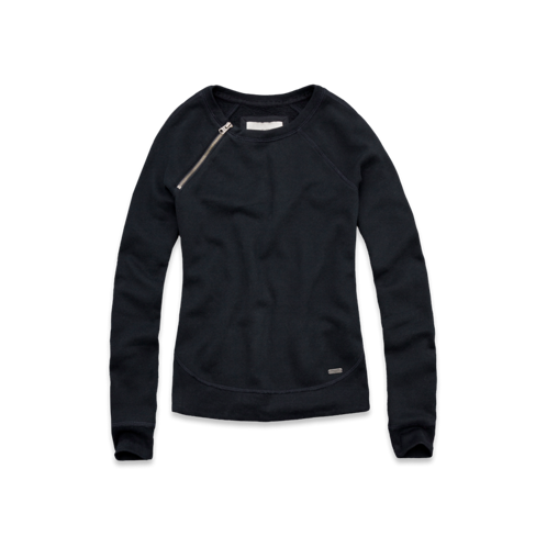 Womens Emma Zipper Sweatshirt