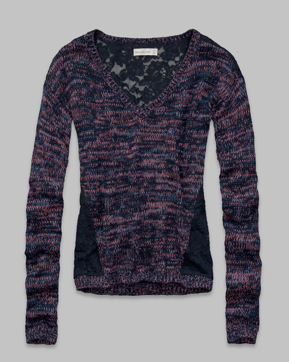 Valarie Lace Back Sweater Valarie Lace Back Sweater