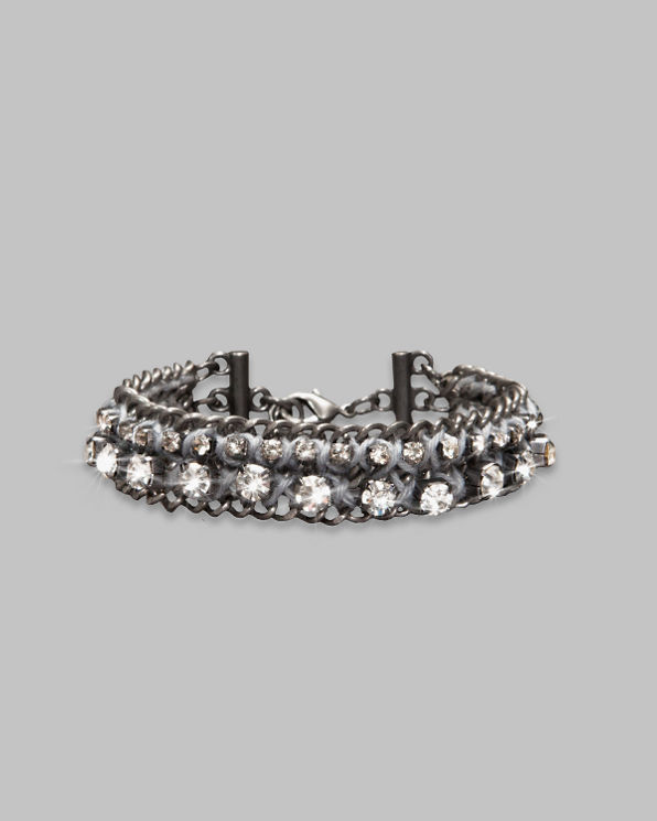 Womens Metallic Shine Bracelet