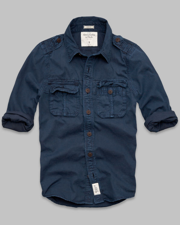 ANF Feldspar Brook Shirt