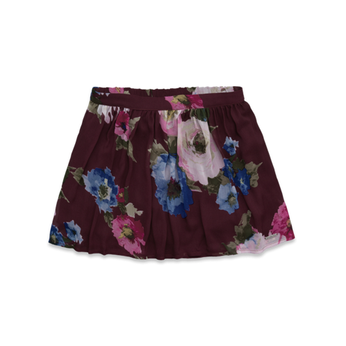 Womens Stacy Chiffon Skirt