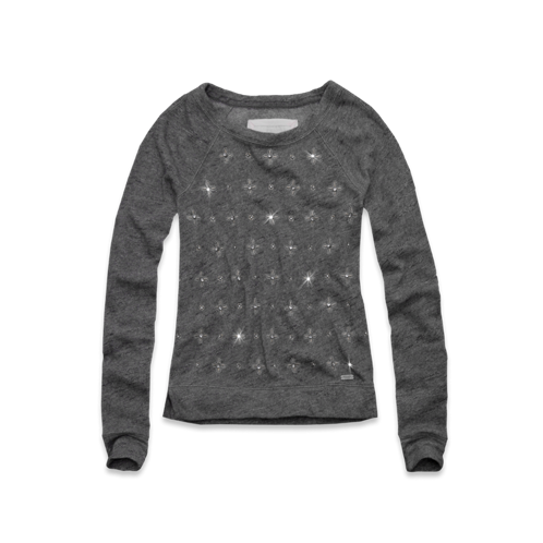 Womens Jordan Embellished Sweatshirt