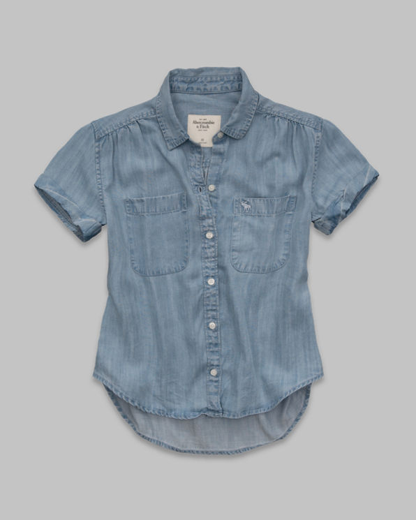 Womens Sadie Denim Shirt