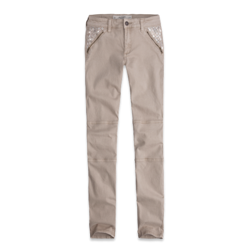 Womens A&F Shine Military Pants