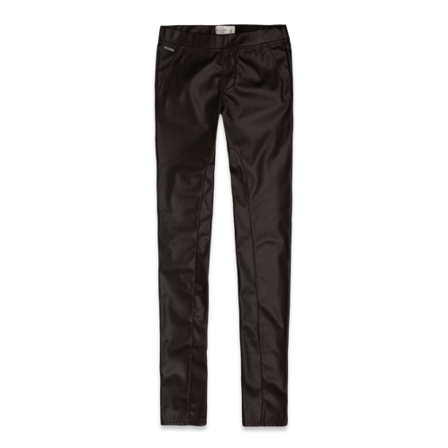 Featured Items A&F Mid Rise Vegan Leather Leggings