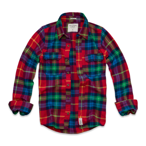 Mens Lake Harris Flannel Shirt