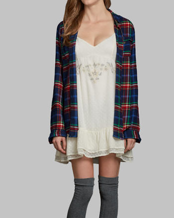 ANF Shannon Flannel Shirt