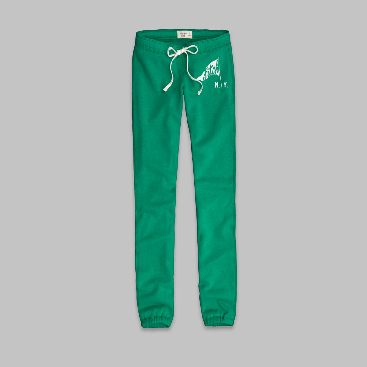 A&F Slim Banded Sweatpants