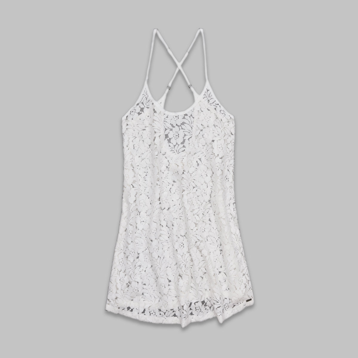 Sheer Lace Cover-Up Dress