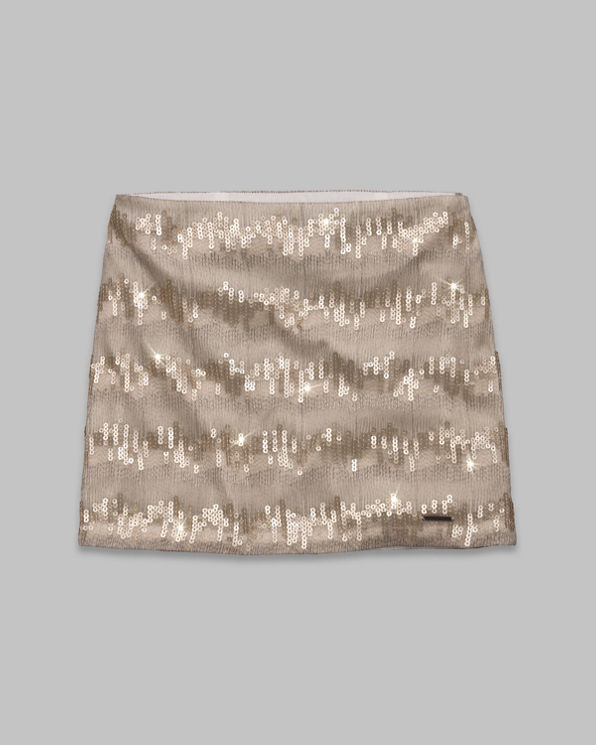 Womens Audrey Shine Skirt
